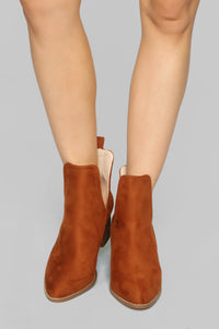 Escape With Me Booties - Tan