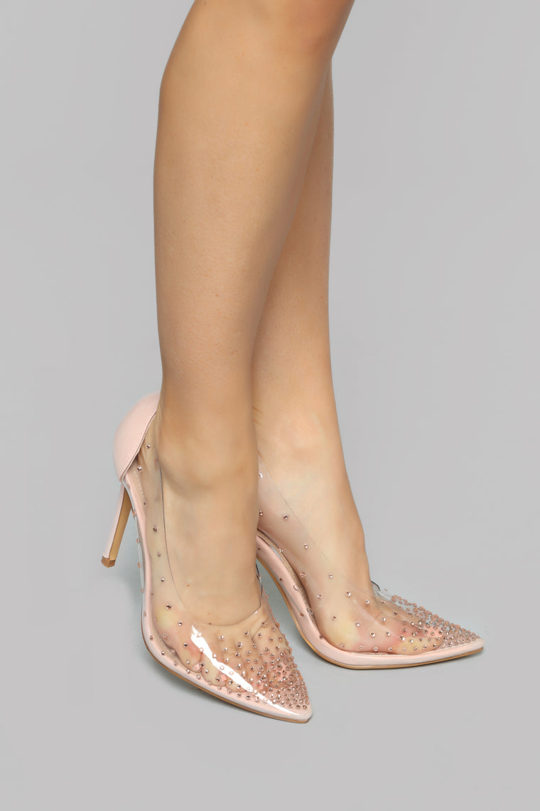 On The Look Out Pump - RoseGold