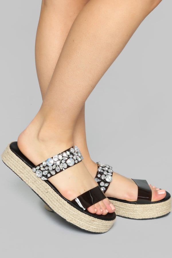 294425a98b96 Risk It All Flat Sandals - Black