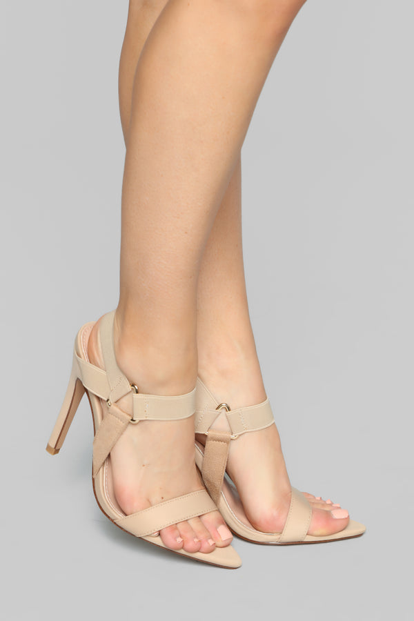 6474424f18cf9e Brave And Beautiful Heeled Sandal - Nude Nude