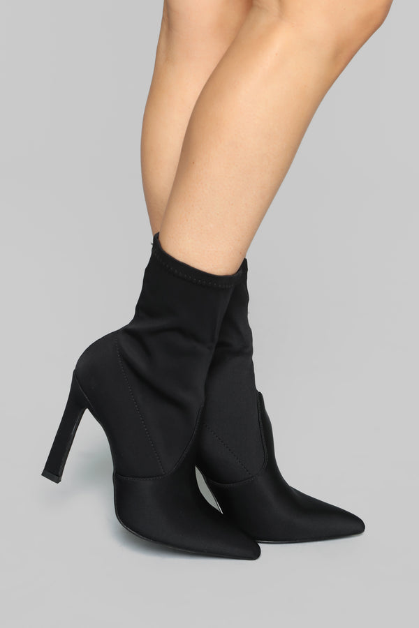 268a29476c2 How You Remind Me Booties - Black