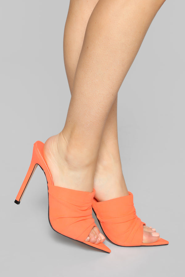 a93f79704336 Outspoken Heeled Sandal - Orange