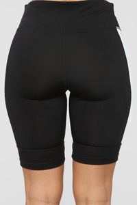 Savage Active Biker Short - Black