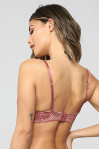 Yours To Keep Forever 2 Pack Bras - Mauve