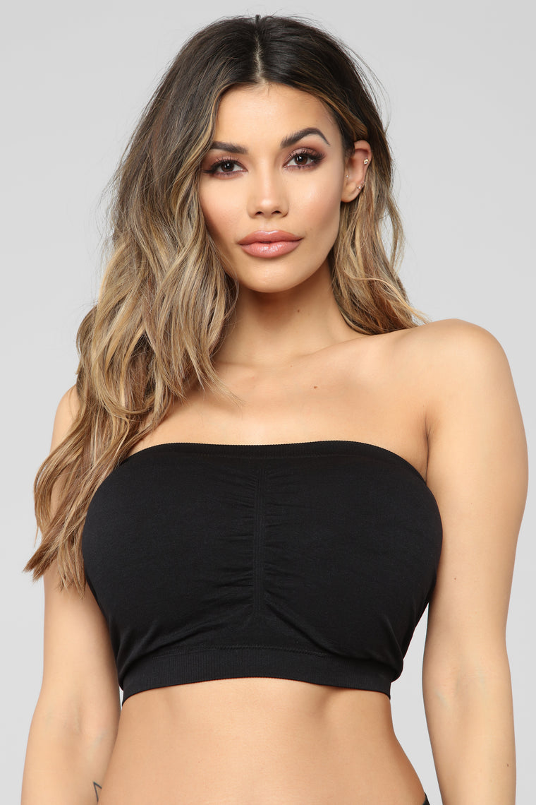 Smooth It Over Bandeau - Black