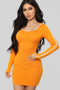 Voted Most Popular Dress - Rust