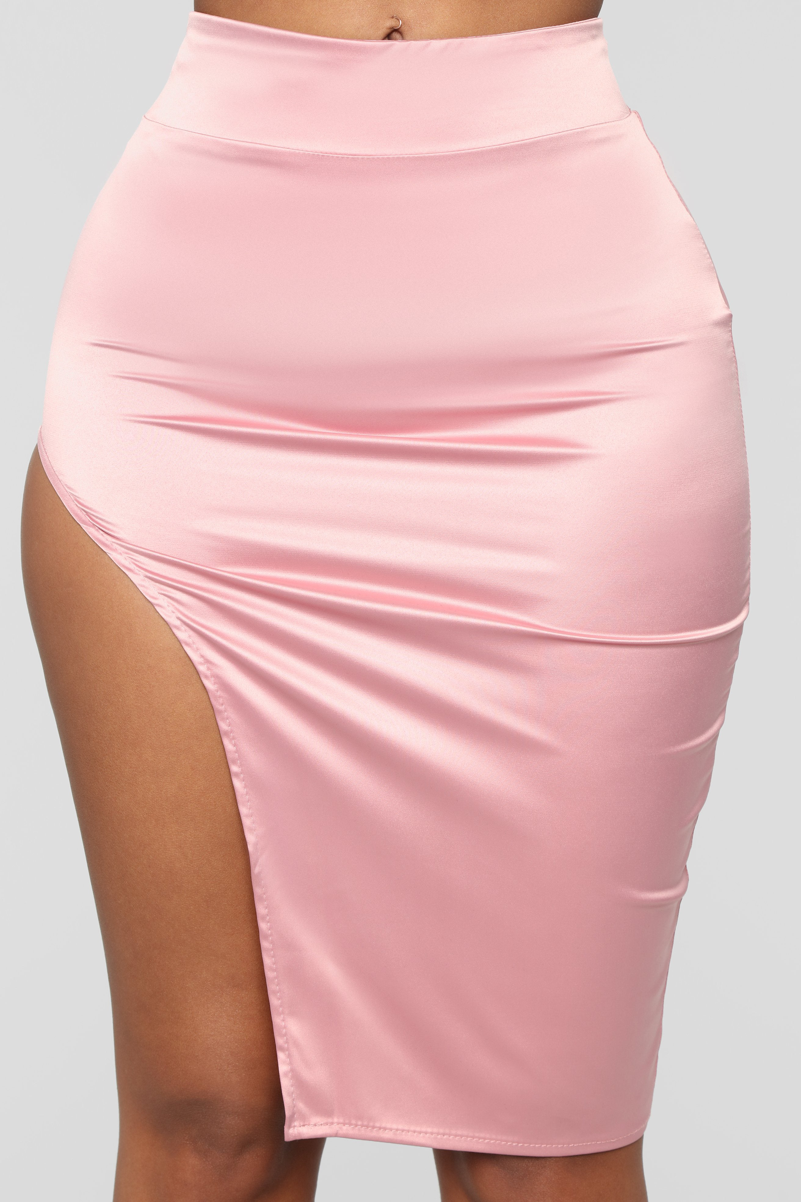 de1714bf4 Dusty Pink Leather Skirt