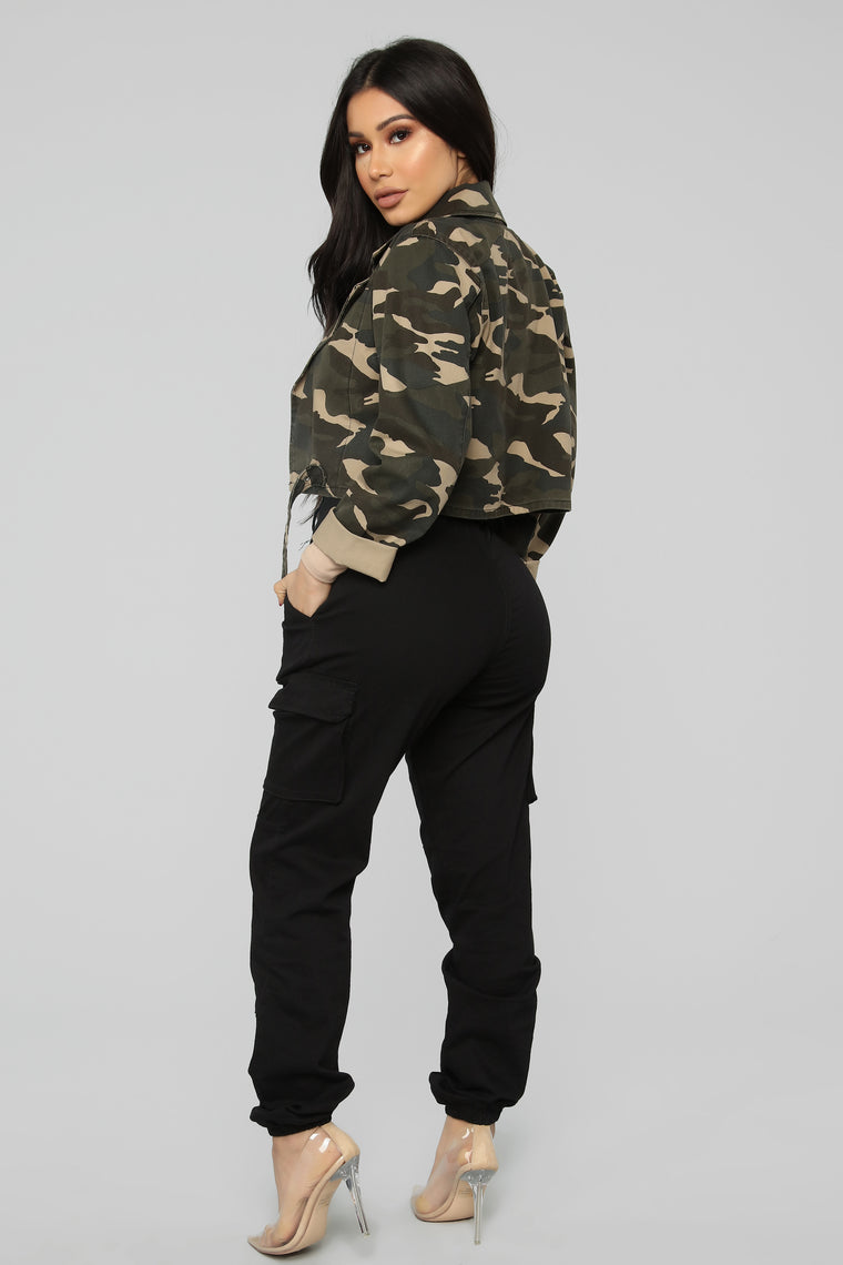 Get In Formation Jacket - Camouflage