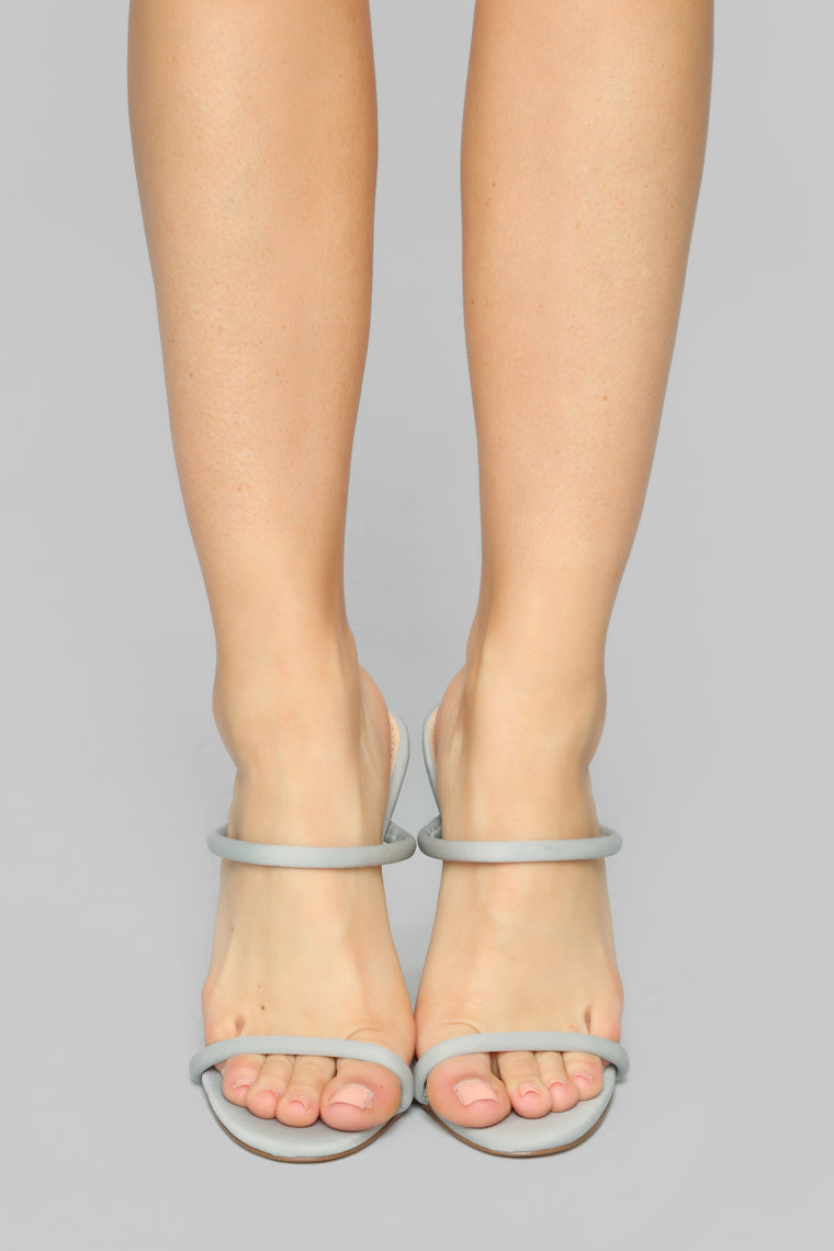 Reminiscence Heeled Sandals - Grey