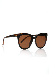 Just Saying Sunglasses - Tortoise