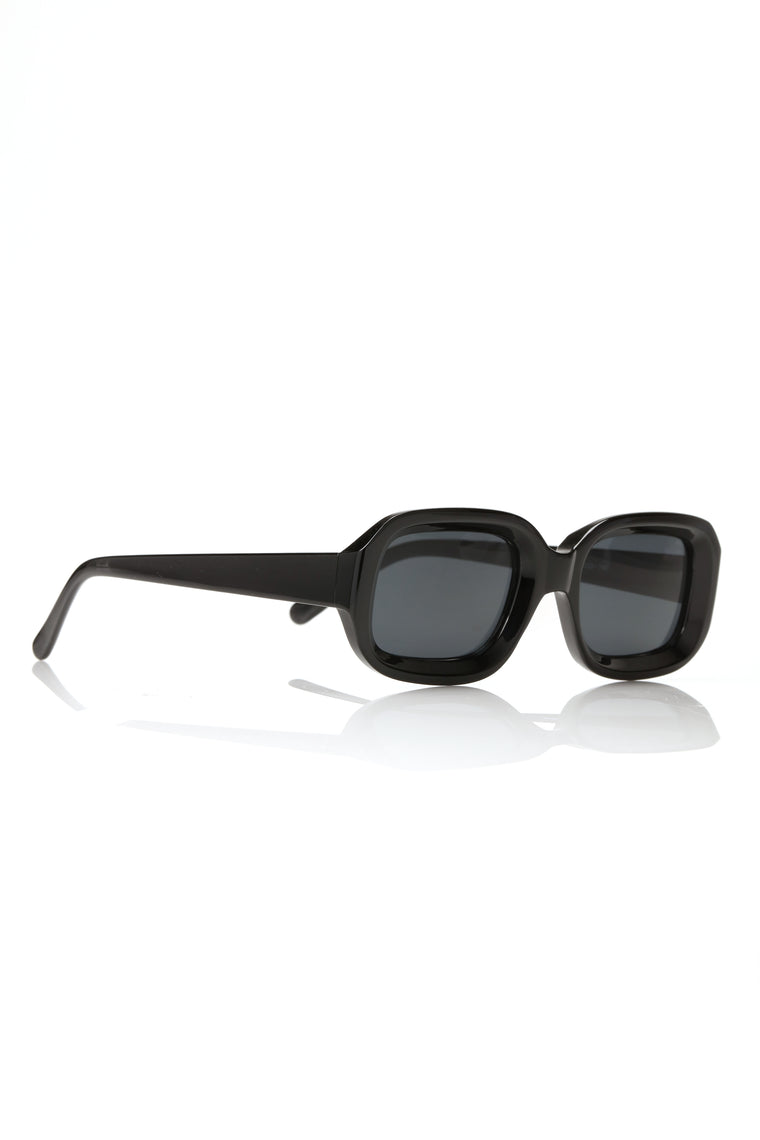 Not Prepared Sunglasses - Black