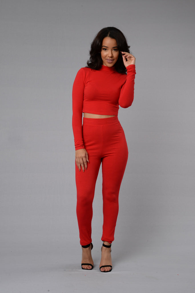 Leisure Top - Red
