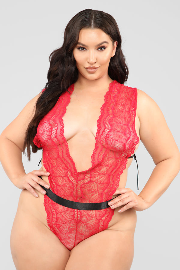 ce421b513269 A Good Night With Me Teddy - Red/Black