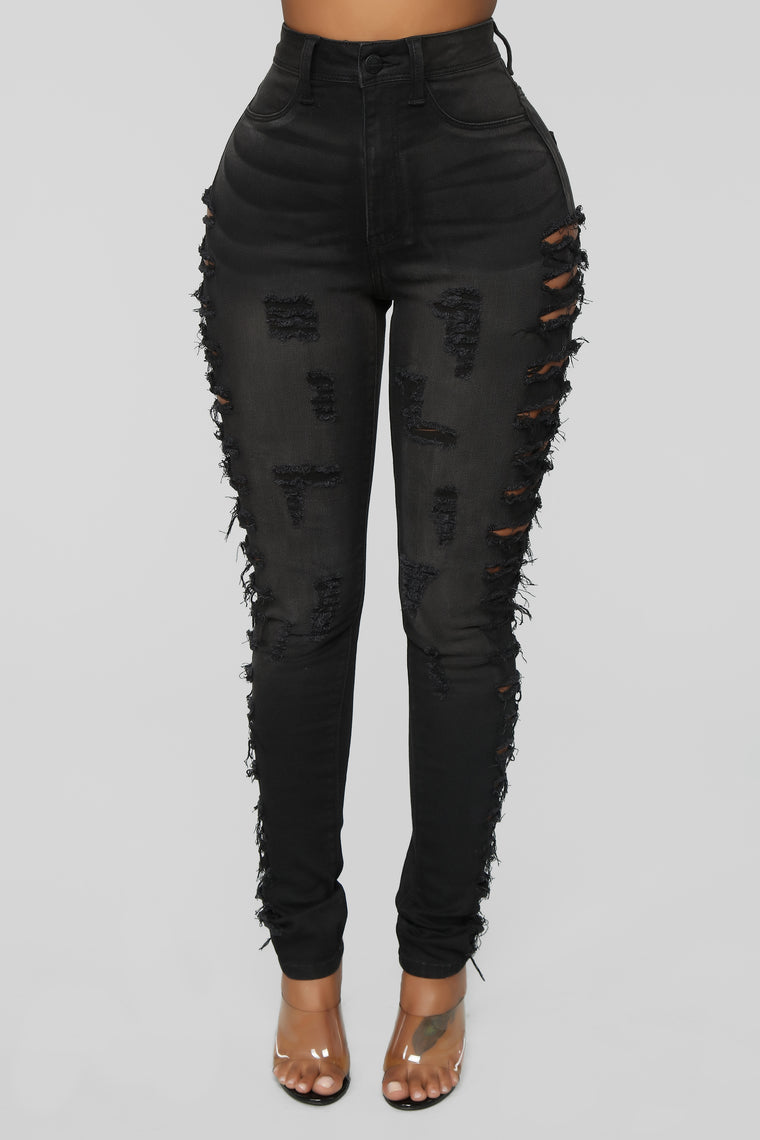 Adults Only Jeans - Black