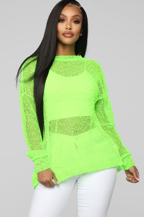 Attention Seeker Top - Neon Green