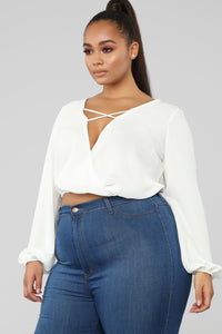 Strappy Intentions Top - Ivory Angle 8