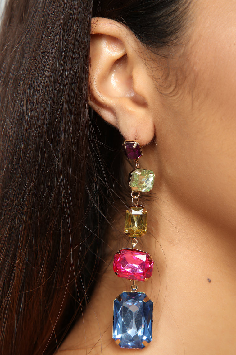 A Catch Like Me Earrings - Multi
