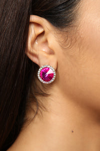 The Next Elle Woods Earrings - Pink