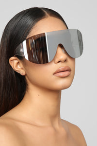 From The Start Sunglasses - Silver Angle 1