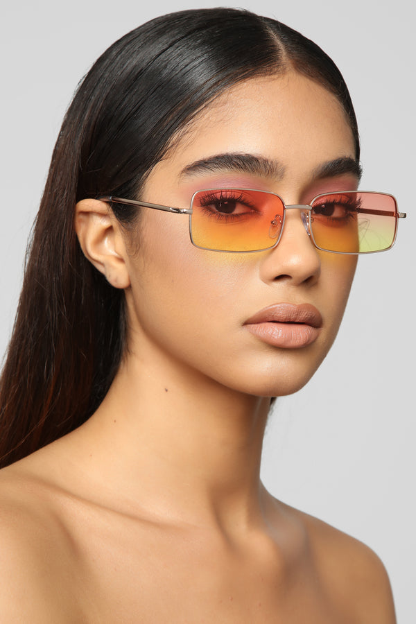 6fdac791db74 Stay Awhile Sunglasses - Orange