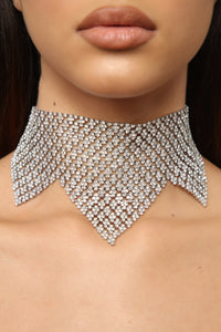 On Point Choker - Silver