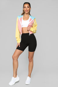 Sweet Candy Jacket - Pink/combo