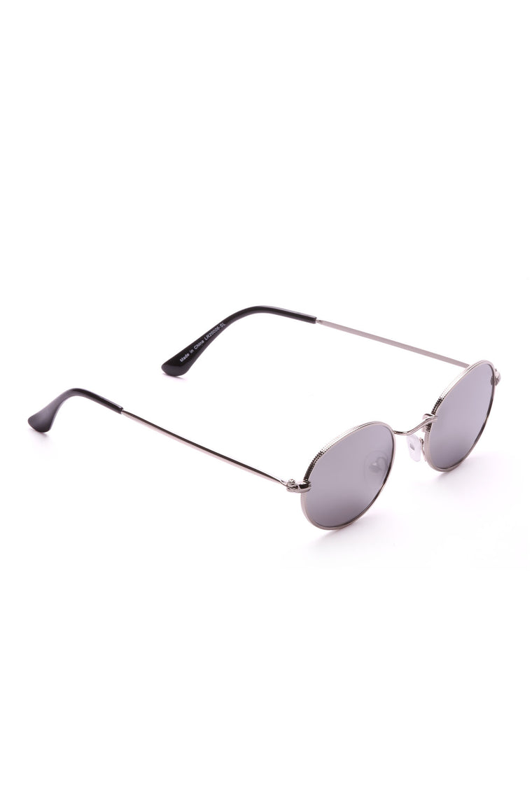 All Vibes Sunglasses - Silver