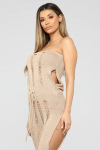 Stalking The Sun Coverup - Taupe