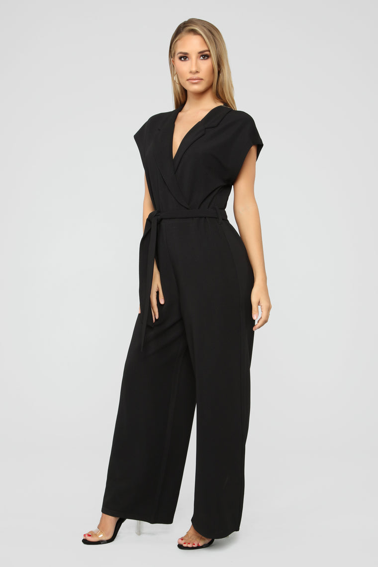 Power Motives Jumpsuit - Black