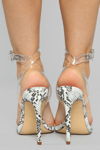 Calling For You Heeled Sandal - Snake