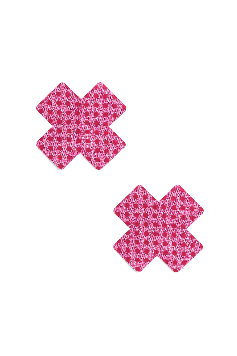 Sexy X 1 Pair Pack Pasties - Pink