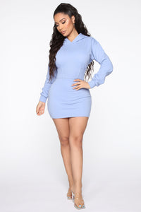 Comfort And Style Mini Dress - Lavender Angle 2