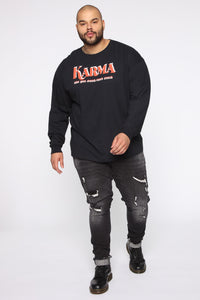 Karma Long Sleeve Tee - Black/combo Angle 7