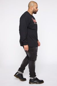 Karma Long Sleeve Tee - Black/combo Angle 9