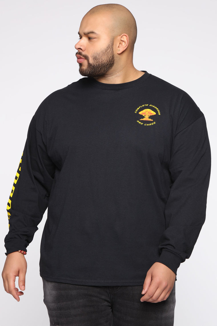 Disorder And Chaos Long Sleeve Tee - Black/combo