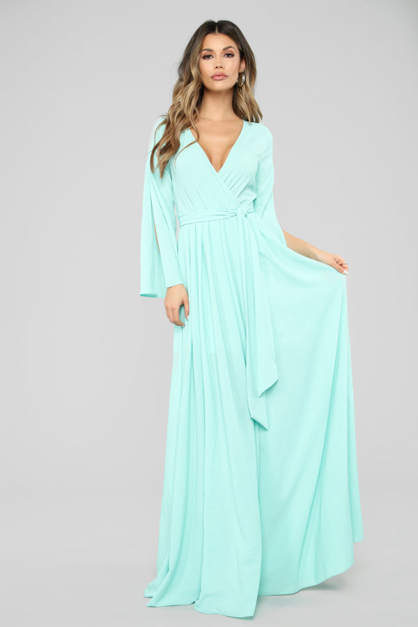 b6dda69017 Sweet As Pie Maxi Dress - Mint
