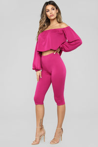 Keeley French Terry Set - Magenta