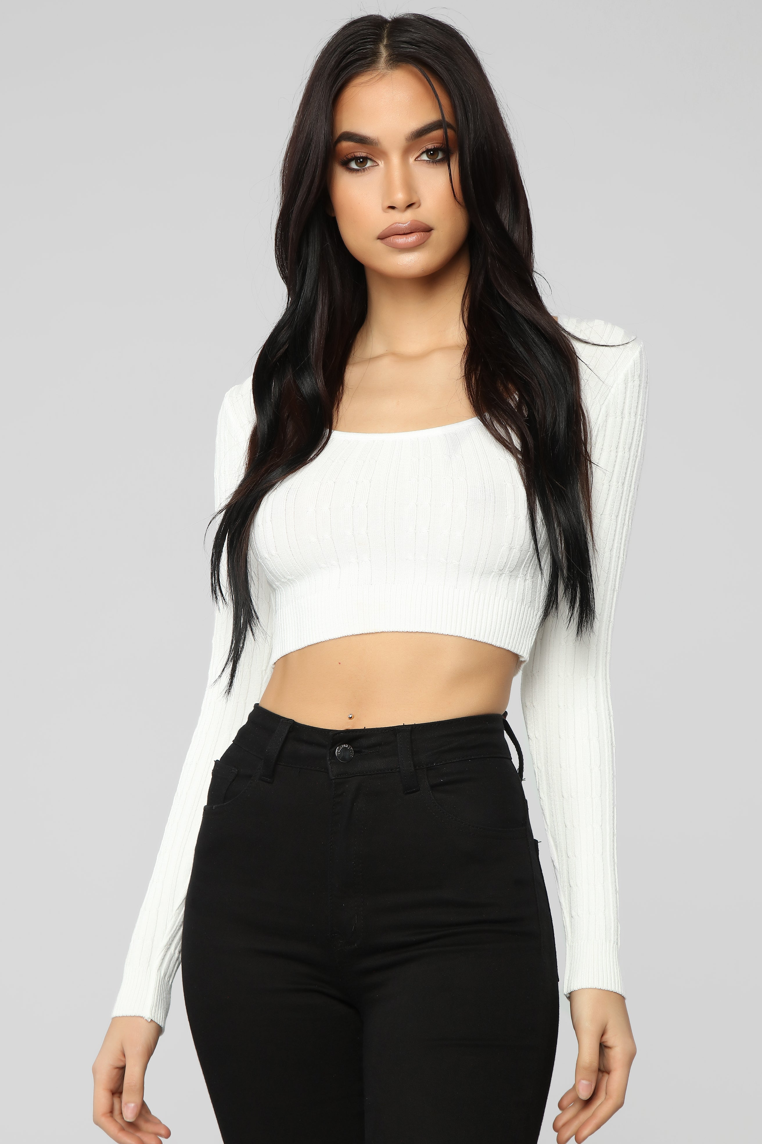 ad616bf7478 https   www.fashionnova.com products just-wondering-top-ivory 2019 ...