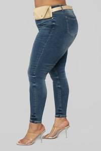 Pack It Up Mid Rise Jeans - Medium Wash Angle 4