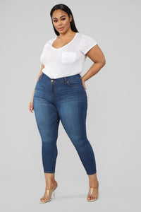It's All About The Butt Shaper Jeans - Medium Wash