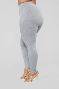 Let The Adventure Begin Leggings - Grey Angle 10