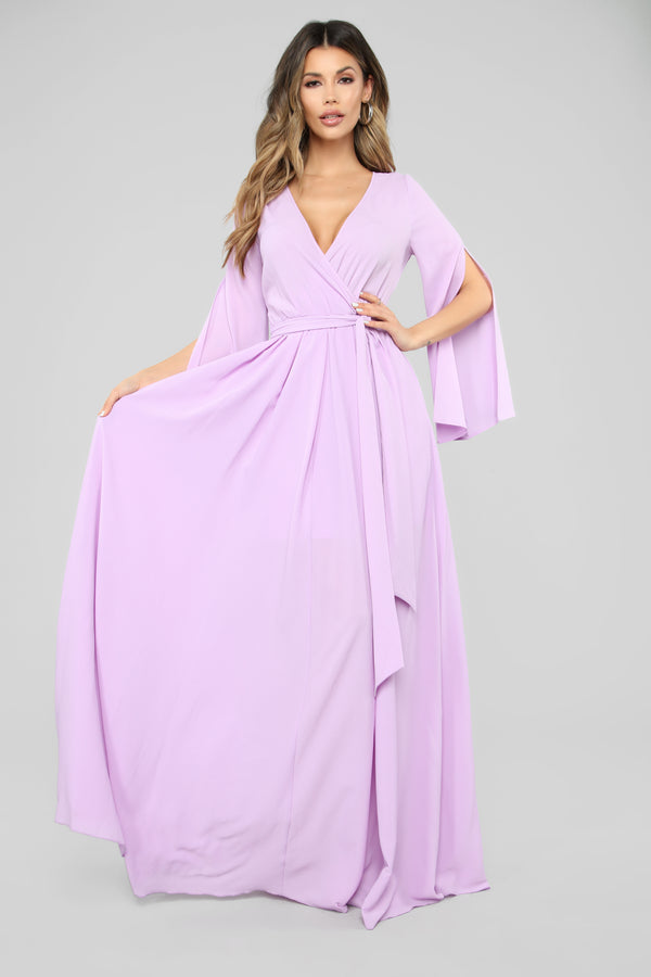 675e3740398 Sweet As Pie Maxi Dress - Lavender
