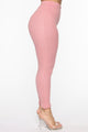 Casual Chic Pant Set - Pink