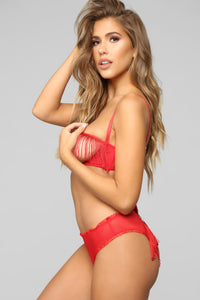 Swing By Tonight 2 Piece Set - Red