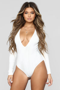 Into You Bodysuit - Off White