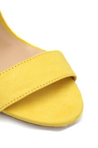 Different Love Heeled Sandals - Yellow Angle 5