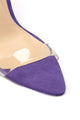 Zipping Along Heeled Sandals - Violet