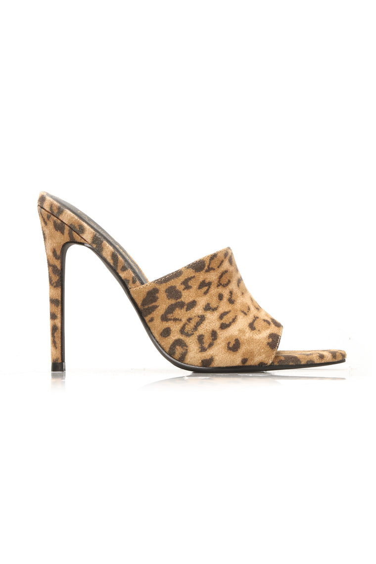 In The Wilderness Heeled Sandal - Leopard