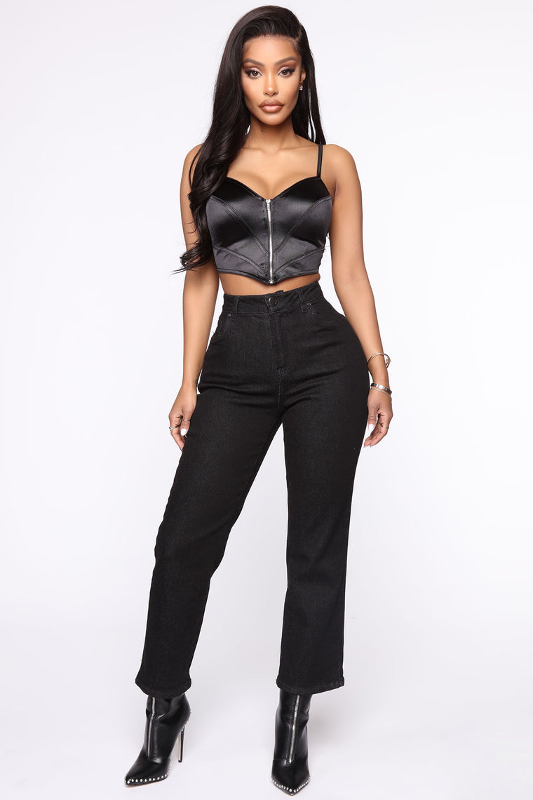 Bad Little Thing Top - Black
