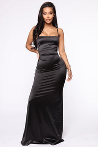 Look This Way Maxi Dress - Black Angle 1